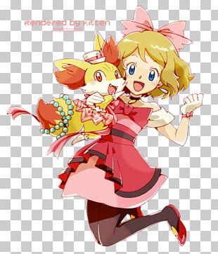 Pokémon X And Y Serena Ash Ketchum Pikachu Misty PNG