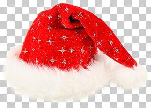 Santa Claus Christmas Bonnet Cap Hat PNG