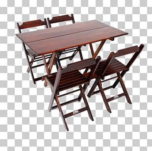 Table Wood Chair Casas Bahia Furniture PNG