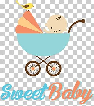 Baby Transport Child Infant Drawing Shopping Cart PNG