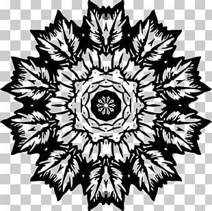 Flower Visual Arts Floral Design Monochrome PNG