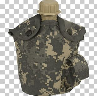 Military Camouflage Canteen Army Combat Uniform G.I. PNG