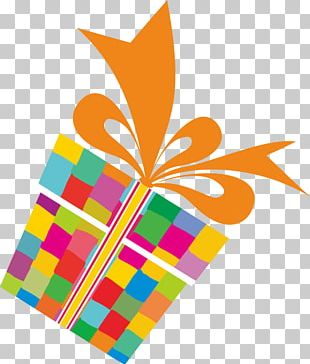 Paper Birthday Gift Wrapping PNG