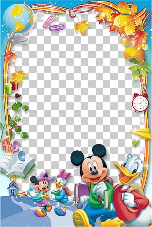 Mickey Mouse Minnie Mouse Daisy Duck Donald Duck Frames PNG