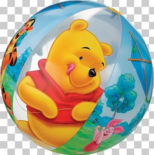 Winnie-the-Pooh Amazon.com Beach Ball Toy PNG