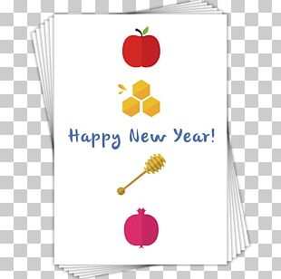 Rosh Hashanah Greeting & Note Cards Judaism New Year PNG