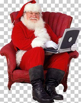 Saint Nicholas Santa Claus Father Christmas Gift PNG