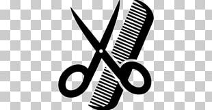 Comb Cosmetologist Scissors Beauty Parlour Barber PNG
