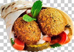 Falafel Wrap Pita Shawarma Lebanese Cuisine PNG