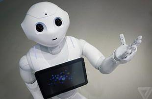 Humanoid Robot Pepper Aldebaran Robotics SoftBank Group PNG
