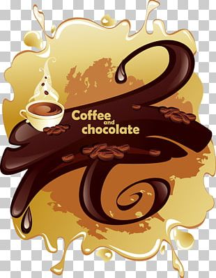Coffee Milk Cafe Chocolate-covered Coffee Bean PNG