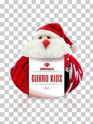 05d448314ec40 Santa Claus Bonnet Knit Cap Christmas Crochet PNG