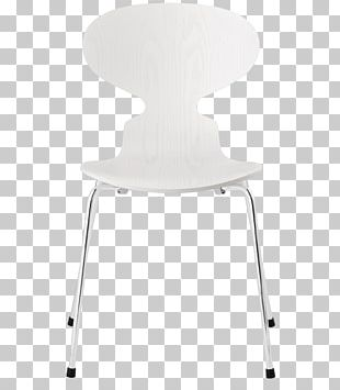 Ant Chair Table Fritz Hansen White PNG