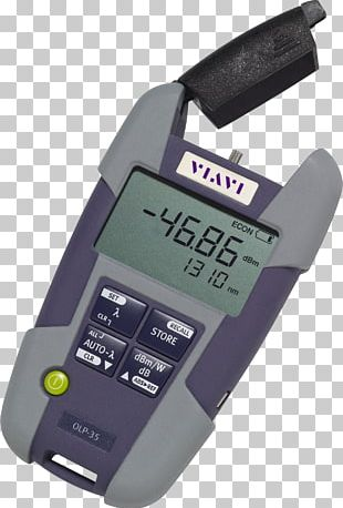 Optical Power Meter Optical Fiber Optics Passive Optical Network Viavi Solutions PNG
