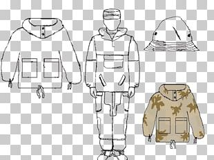 Outerwear Line Art Sketch PNG