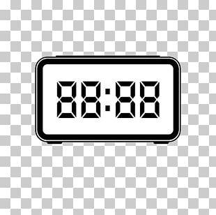 Digital Clock Watch Alarm Clock PNG
