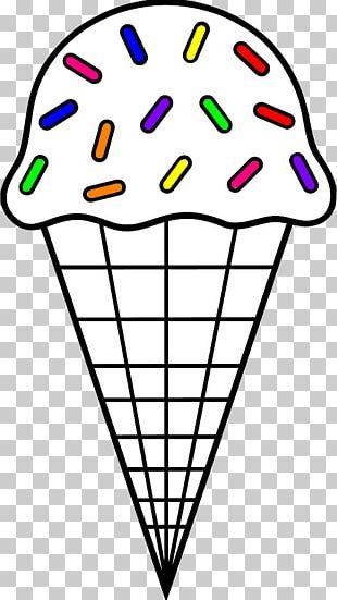 Ice Cream Cones Sundae PNG