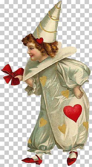 Harlequin Clown Valentine's Day Saint Valentine PNG