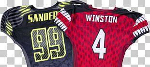 T-shirt Sports Fan Jersey American Football Uniform PNG
