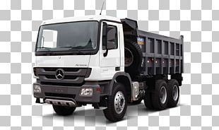 Mercedes-Benz Actros Car Dump Truck PNG