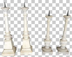 Marble Viyet Fireplace Mantel Lighting Candlestick PNG