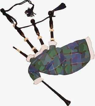 Clothing And Bagpipe PNG