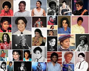 Collage Photomontage Thriller The Jackson 5 PNG