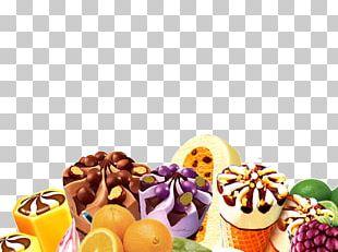 Ice Cream Dessert Petit Four Fruit PNG