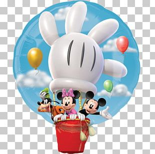 Mickey Mouse Minnie Mouse Hot Air Balloon Pluto PNG