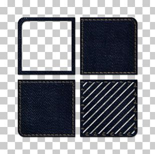 Square Wallet Pattern PNG