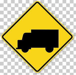 Traffic Sign Truck Warning Sign Manual On Uniform Traffic Control Devices PNG