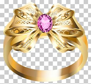 Wedding Ring Jewellery Gold PNG