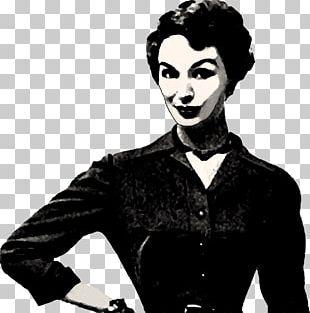 Elegant Woman Vintage PNG