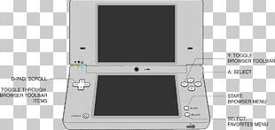 Flipnote Studio Nintendo DSi Handheld Game Console Video Game Consoles PNG