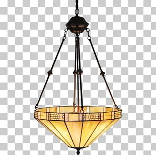 Glass Chandelier Light Fixture Lighting Lamp PNG