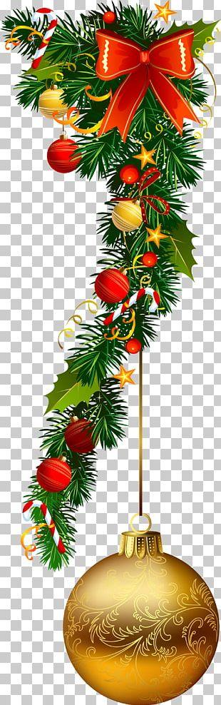 Santa Claus Christmas Ornament Christmas Decoration Garland PNG