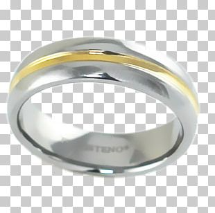 Wedding Ring Jewellery Material Silver PNG