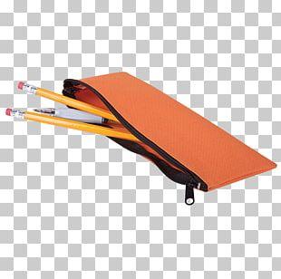 Pen & Pencil Cases Plastic Zipper Material PNG