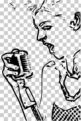 Microphone Singing Karaoke PNG