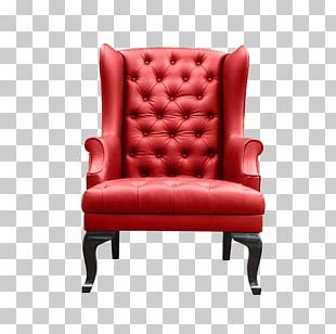 Upholstery Chair Leather Stock Photography Couch PNG
