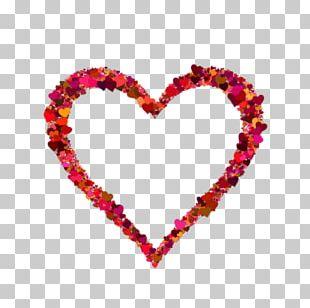 Paper Heart Sticker PNG