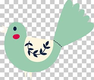 Bird Green Beak PNG