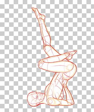 Poses For Artists: Dynamic And Sitting Poses Figure Drawing Sketch PNG