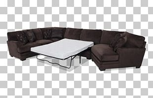 Sofa Bed Couch Comfort Chair Table PNG