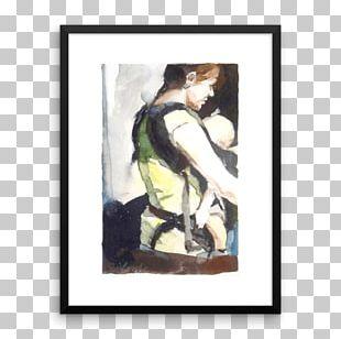 Watercolor Painting Artist Portrait Work Of Art PNG