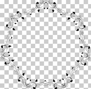 White Frames Body Jewellery Point PNG
