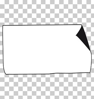 White Triangle Point Line Art PNG
