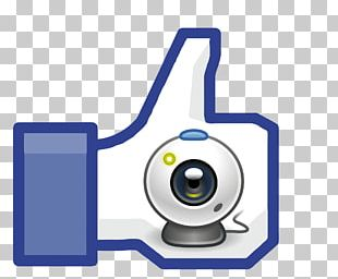 Thumb Signal Facebook Like Button PNG