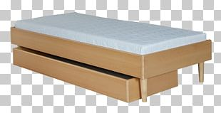 Bed Frame Box-spring Mattress Bedside Tables PNG