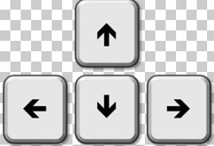 Computer Keyboard Arrow Keys PNG